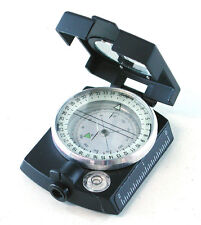 DRAPER SAPPHIRE LIQUID FILLED COMPASS METAL CASE POUCH TRIPOD MOUNTING SPIRIT