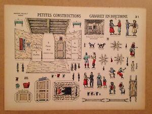 DECOUPAGE ANCIEN Cabaret en Bretagne
