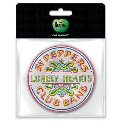 Beatles Rubber Magnet Calamita Sgt. Pepper Official Merchandise