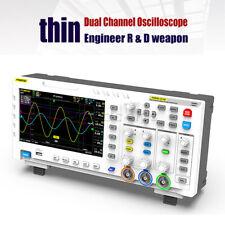Fnirsi 1014d Tft Lcd Digital Storage Dual Channel Oscilloscope Signal Generator