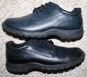 Smart-Fit-Dress-Shoes-Dark-Blue-Man-Made-Materials-Oxford-Women-039-s-Solid-6-Six