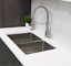 thumbnail 12 - Single Handle Pull Down Kitchen Faucet Brushed Nickel