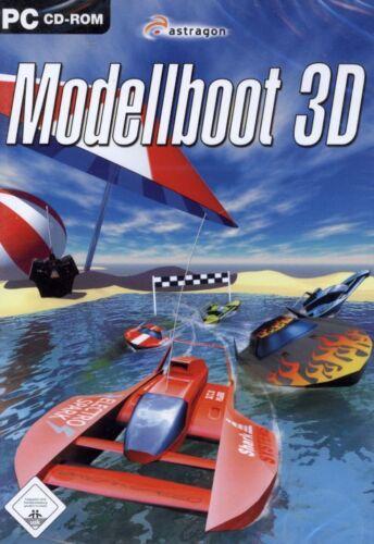 1 von 1 - PC CD-ROM NEU/OVP - Modellboot 3D