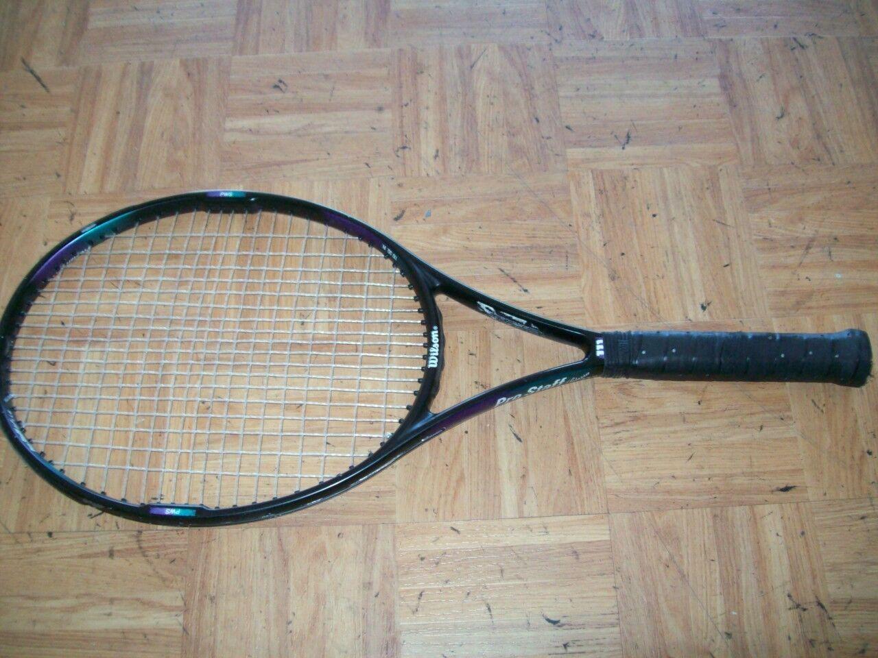 Wilson Pro Staff Classic 7.5 Si OS 110 4 3 8 Tennis Racquet