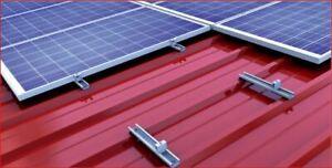 Heimwerker Erneuerbare Energie Solarmodul Befestigung Hochkant Blechdach Pv Halterung Montage 28-52mm Modul