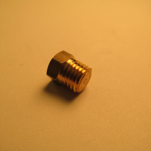 LIVE STEAM BRASS PIPE PLUG 5//16-27 MTP Tapered Threads Fitting NEW Train Parts
