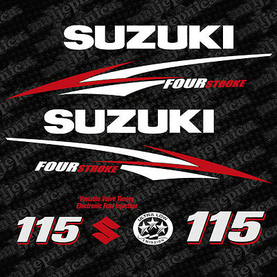 Honda BF 30 four stroke outboard decal aufkleber adesivo sticker set