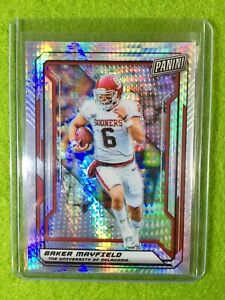 BAKER-MAYFIELD-PRIZM-CARD-JERSEY-6-OU-REFRACTOR-99-SP-BROWNS-2019-National-VIP