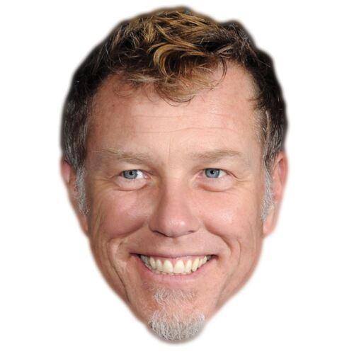 James Hetfield Célébrité Masque Carte Visage Et Déguisement Masque
