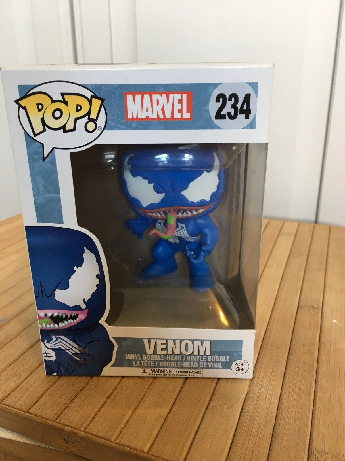 Blau Venom Hot Topic Exclusive Funko Pop  234 Marvel