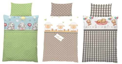 algodón ropa de cama bebé cama infantil conjunto 100x135 cm Teddy Bear 2 pzas