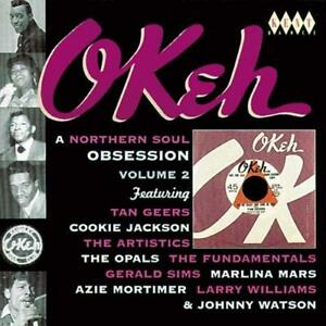 OKEH-A-NORTHERN-SOUL-OBSESSION-VOLUME-2-Various-Artists-NEW-SEALED-CD-KENT-R-amp-B