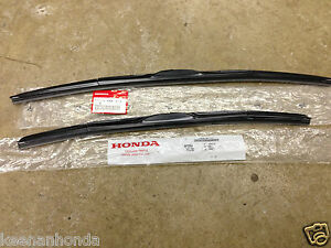 genuine oem honda civic dr sedan front windshield wiper blades   ebay