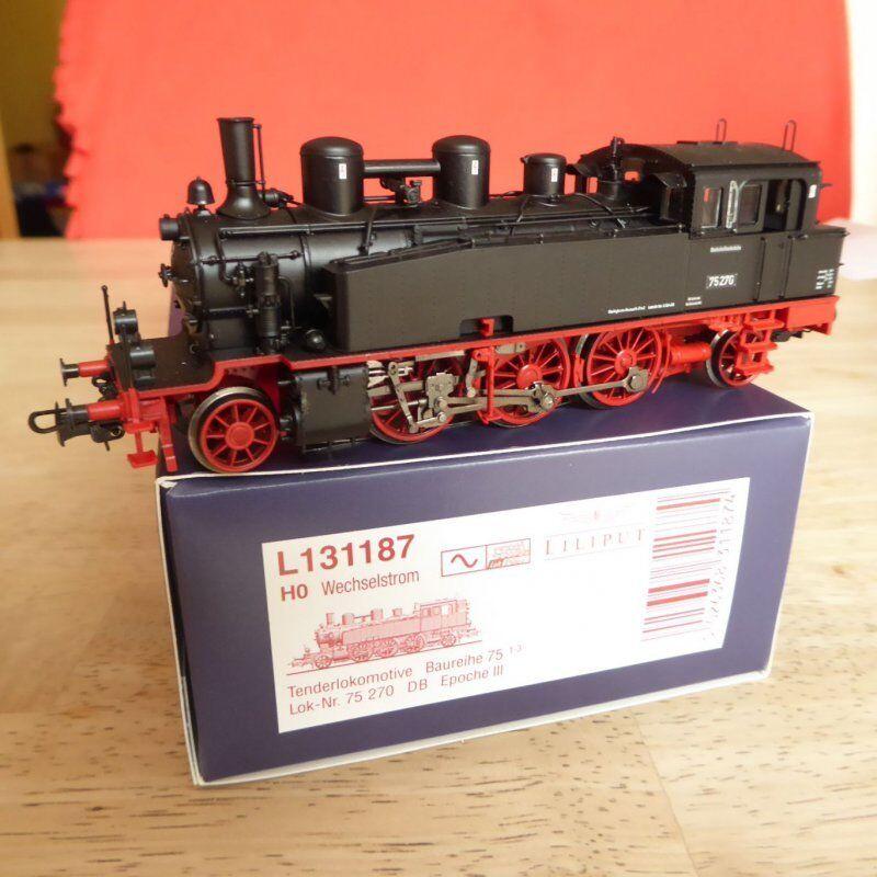 Liliput 131187 H0 for Märklin Steam Locomotive Br 75 270 Db Ep.3 New Digital