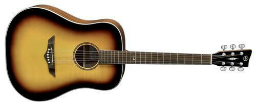 VGS Root RT-10, Dreadnought, Westerngitarre, aged sunburst