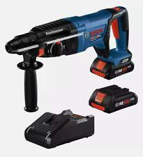 Bosch Gbh18v 26dk25 18v Ec Brushless Sds Bulldog 1 Rotary Hammer With2 4ah