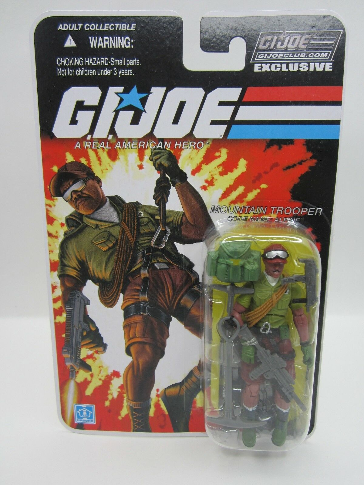 G.I. JOE COLLECTOR'S 3.0 CLUB EXCLUSIVE FSS 25TH 30TH ALPINE ACTION FIGURE MOC