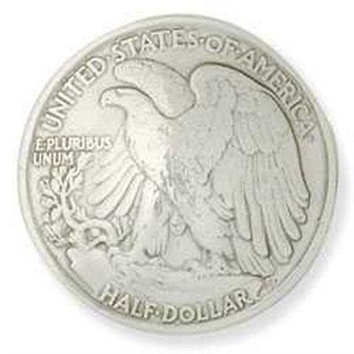Half Dollar Liberty Eagle Replica Concho 11372-04 by Stecksstore