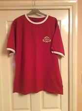 Men's 2006 Stella Artois Championship short sleeve Jack Wills red t-shirt Large