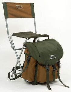 Shakespeare Folding Chair With Rucksack Amp Back Rest
