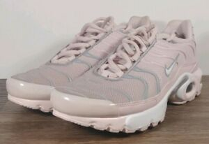 Details about Nike Air Max Plus TN Tuned 1 GS Size 5Y Barely Rose Pink Trainer 718071 600