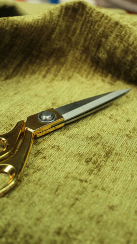 CURTAIN CHENILLE SOFT SHIMMERING UPHOLSTERY SOFA FABRIC MATERIAL VELVET