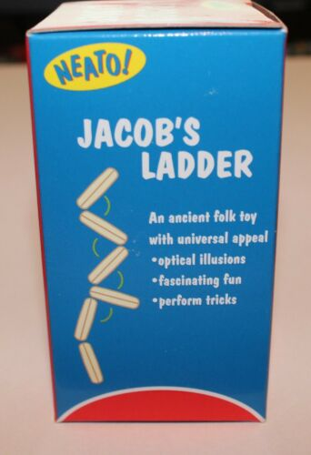 Jacob/'s Ladder Game Ancient Folk Optical Illusion Toy for Old Fashioned Fun