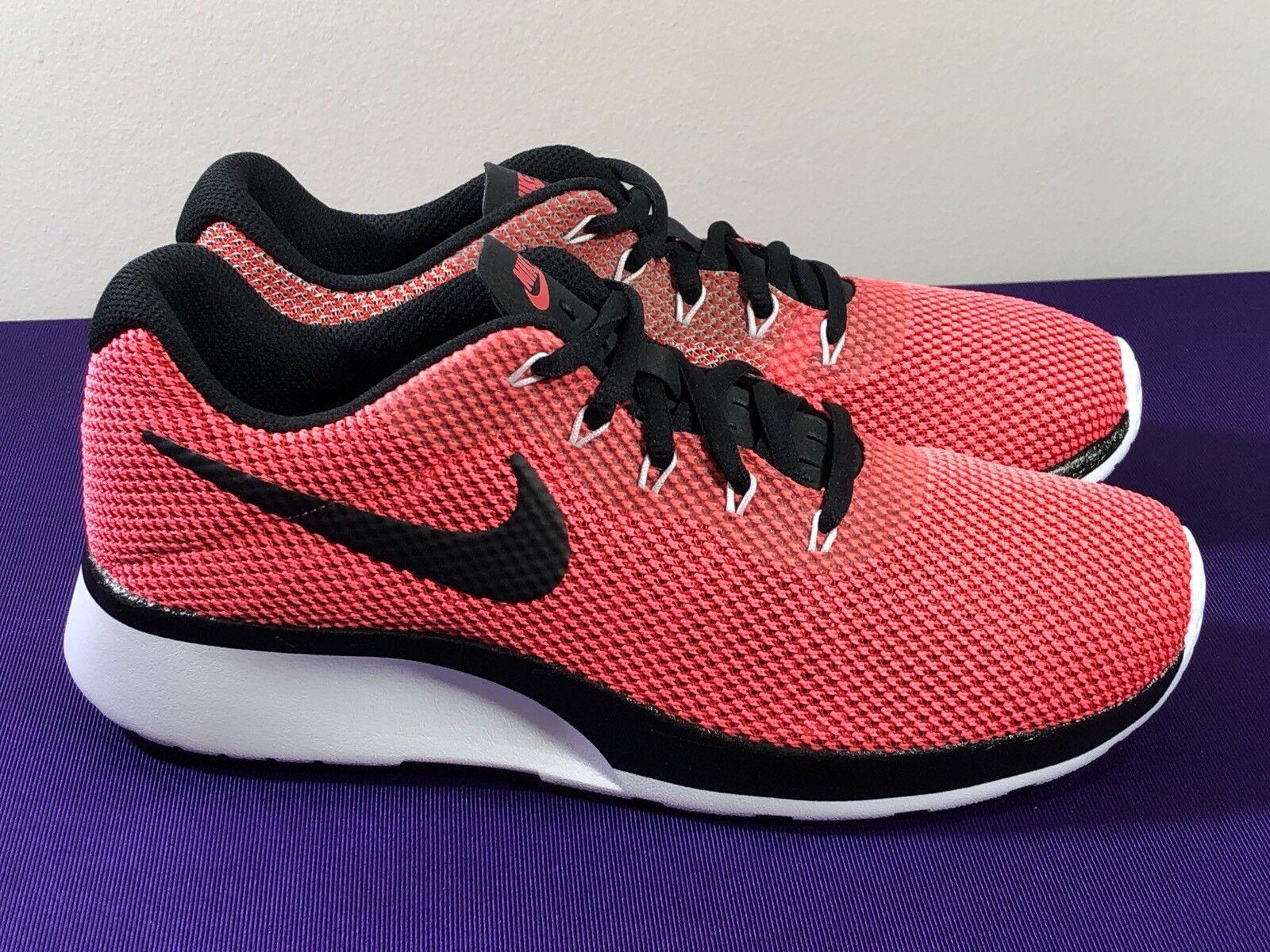Nike Tanjun Racer Womens 921668-601 Tropical Pink Black Running Shoes Size 8.5