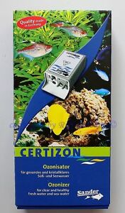 Sander-Ozonisator-C-25-mg-h-Certizon-fur-Suswasser-u-Meerwasser
