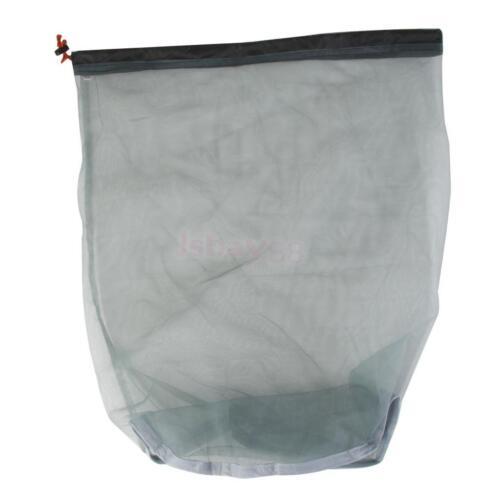 Tavel Camping Sports Ultralight Mesh Stuff Sack Drawstring Bag ASSORTED Size