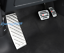 3PCS Stainless Brake Pedal+Accelerator Pedal Cover For Audi Q3 2019 2020