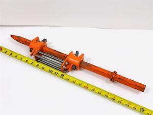 Hydraulic-Adjustable-Depth-1-034-Hex-x-4-1-4-034-x-24-034-Moil-Point-Chisel-Drill-Steel