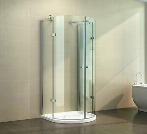 duschkabine u form duschabtrennung u duschwand nano versieglung esg echtglas ebay. Black Bedroom Furniture Sets. Home Design Ideas