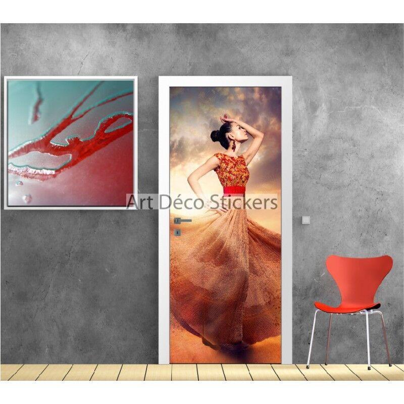 Plakat Plakat für Tür Tänzerin Ref 9508 9508