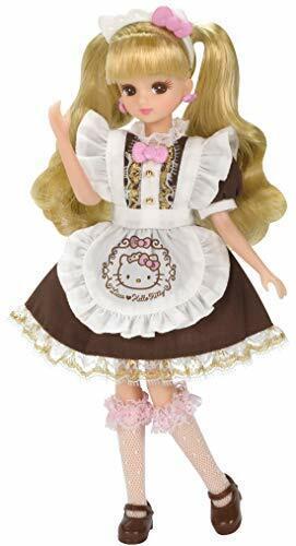 Takara Tomy Licca-chan Hello Kitty Suites Cafe Dress Set