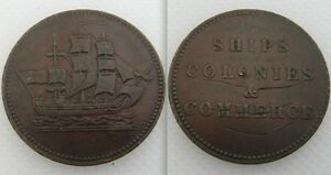 Collectable-Ships-Colonies-amp-Commerce-Trade-Token-Lot-1