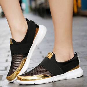 women's breathable sneakers casual mesh tennis athletic