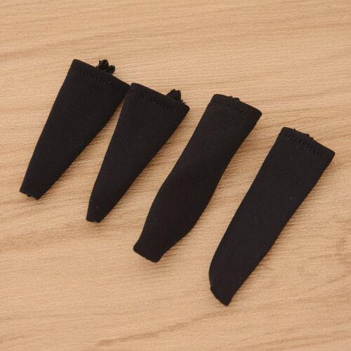 1 6 Maßstab Lang Kurz Figur Accessory Sandspiel Schwarz Socken Spielzeug Neu
