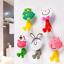 1pcs 3D Cartoon Animal Cute Sucker Toothbrush Wall Holder Suction Cup Bathroom