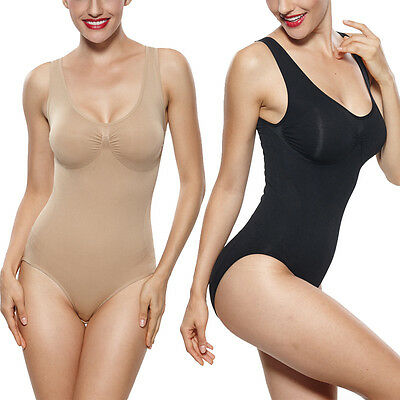 Shapewear Seamless Body Briefer Overbust Body Suits Tummy Control Body Shaper