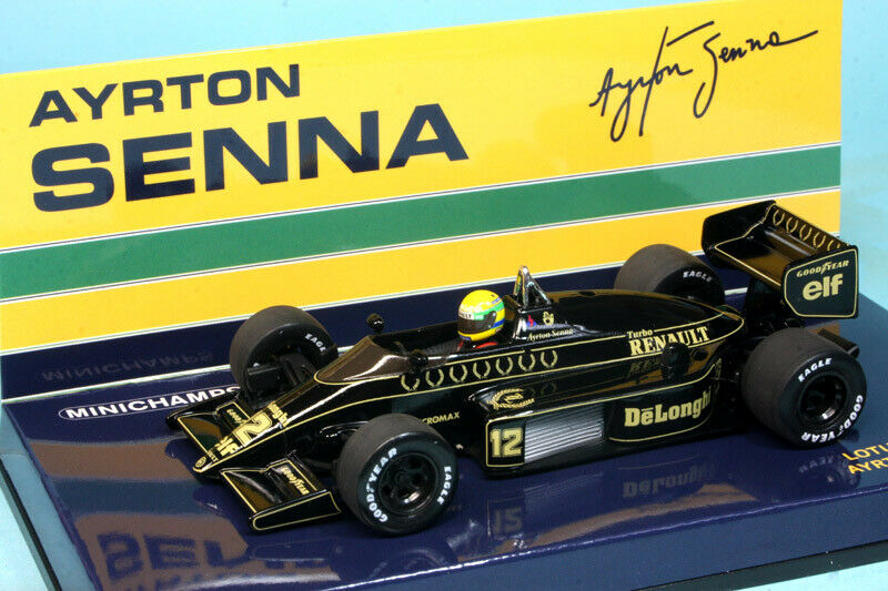 Lotus Renault 98T A.Senna 1986 1 43 Scale 540864312 Minichamps