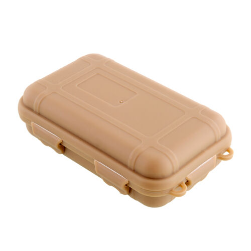 3 COLORS Outdoor Plastic Waterproof Survival Container Storage Box KIT//TIN