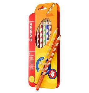STABILO Easycolors Paquete 6 Lápices Ergonómico Para Diestros 332/6