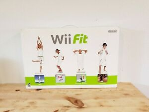 WII FIT With Balance Board NEW IN BOX NINTENDO Yoga Aerobics Strength Game