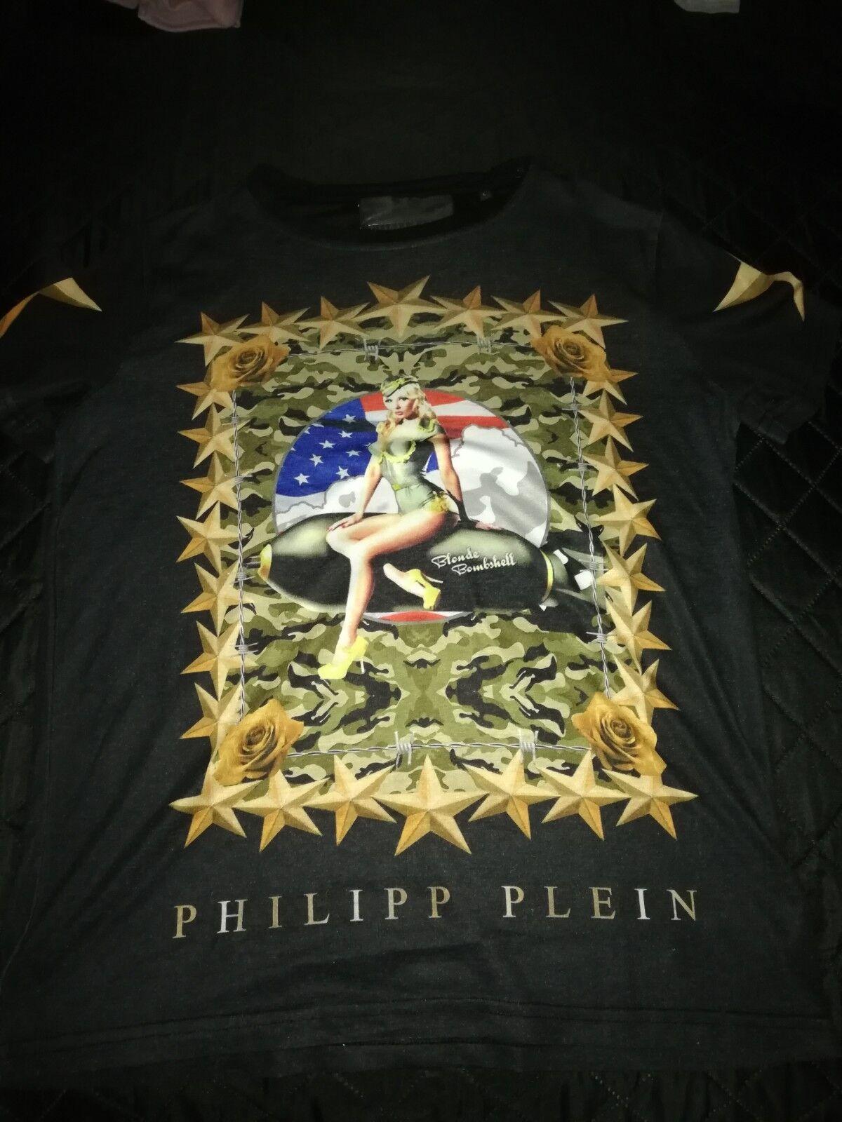 Philipp Plein T - Shirt in Größe L Herren