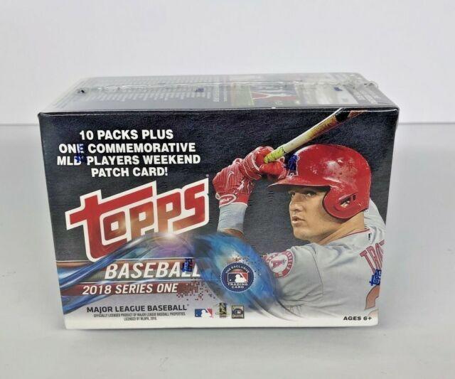 10 Packs of 10 Cards 2018 Topps Series 1 Blaster Box