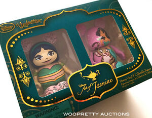 SPECIAL-EDITION-Disney-Princess-Art-of-Jasmine-2015-Aladdin-Vinylmation-Set-NIB