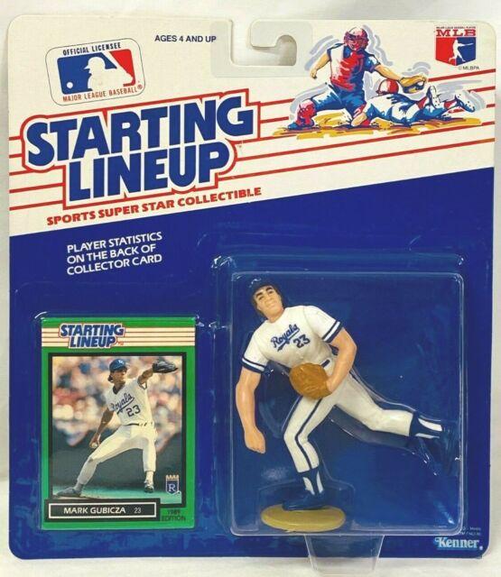 ⚾️ 1989 ROOKIE STARTING LINEUP - SLU - MLB - MARK GUBICZA - KANSAS CITY ROYALS