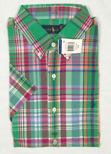 1ddbffd990d item 3 NEW  90 Polo Ralph Lauren Button Down Shirt! Short Sleeve 2 Colorful  Plaids -NEW  90 Polo Ralph Lauren Button Down Shirt!