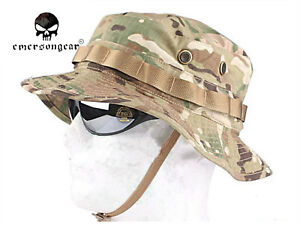 dd50db8f741 Image is loading Emerson-Tactical-Boonie-Hat-Camo-Military-Sports-Outdoor-